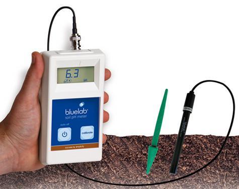 بلولاب - جهاز قياس الPH  في التربة  أدوات قياس