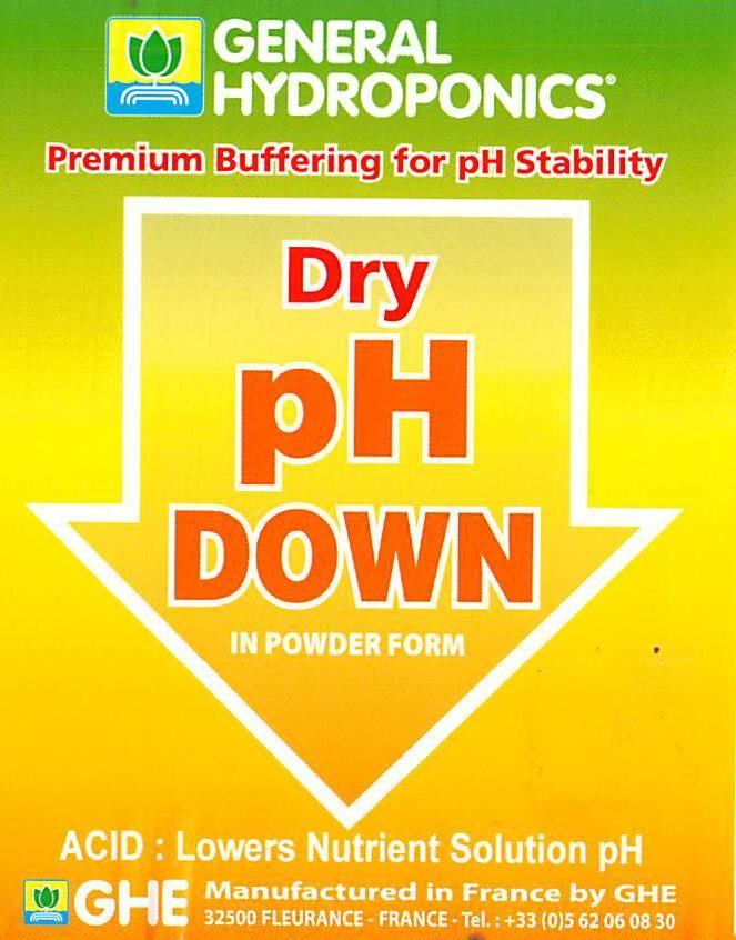 PH DOWN POWDER 100G Measuring Instruments