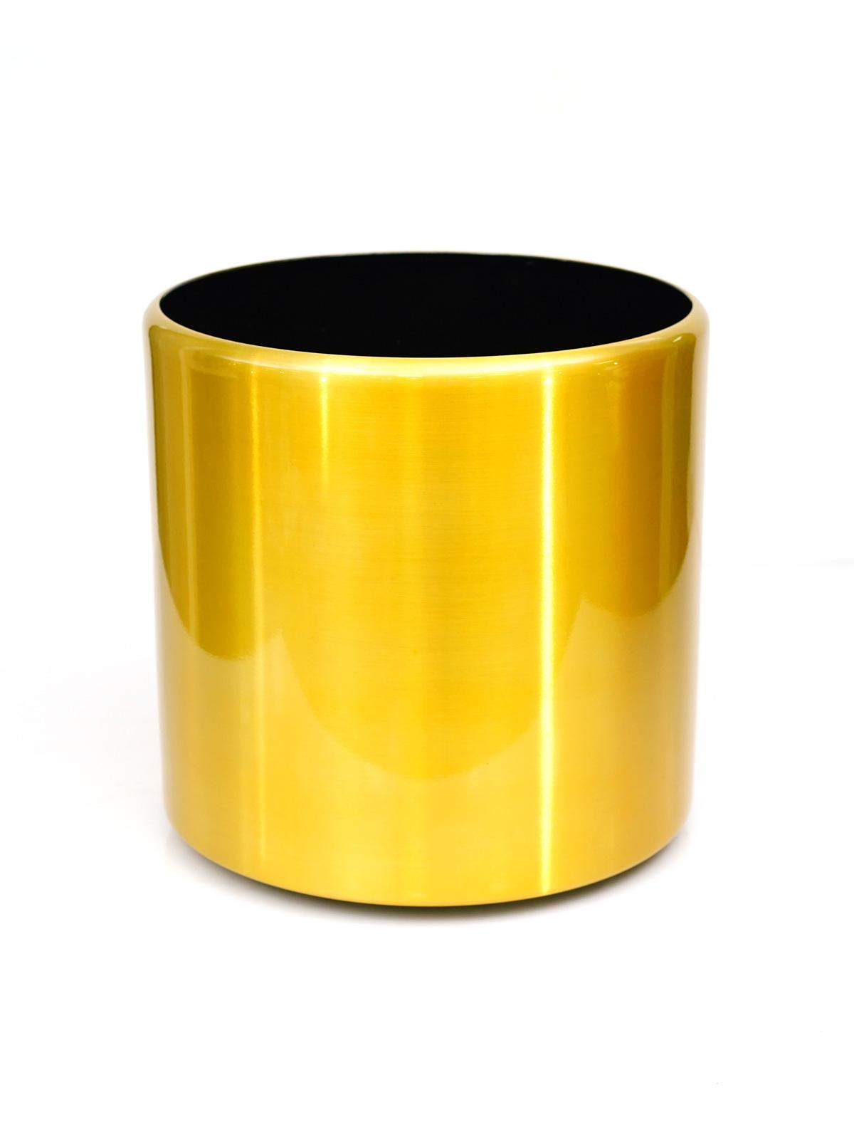 Aluminium Pot with Wheel Pots & Vases