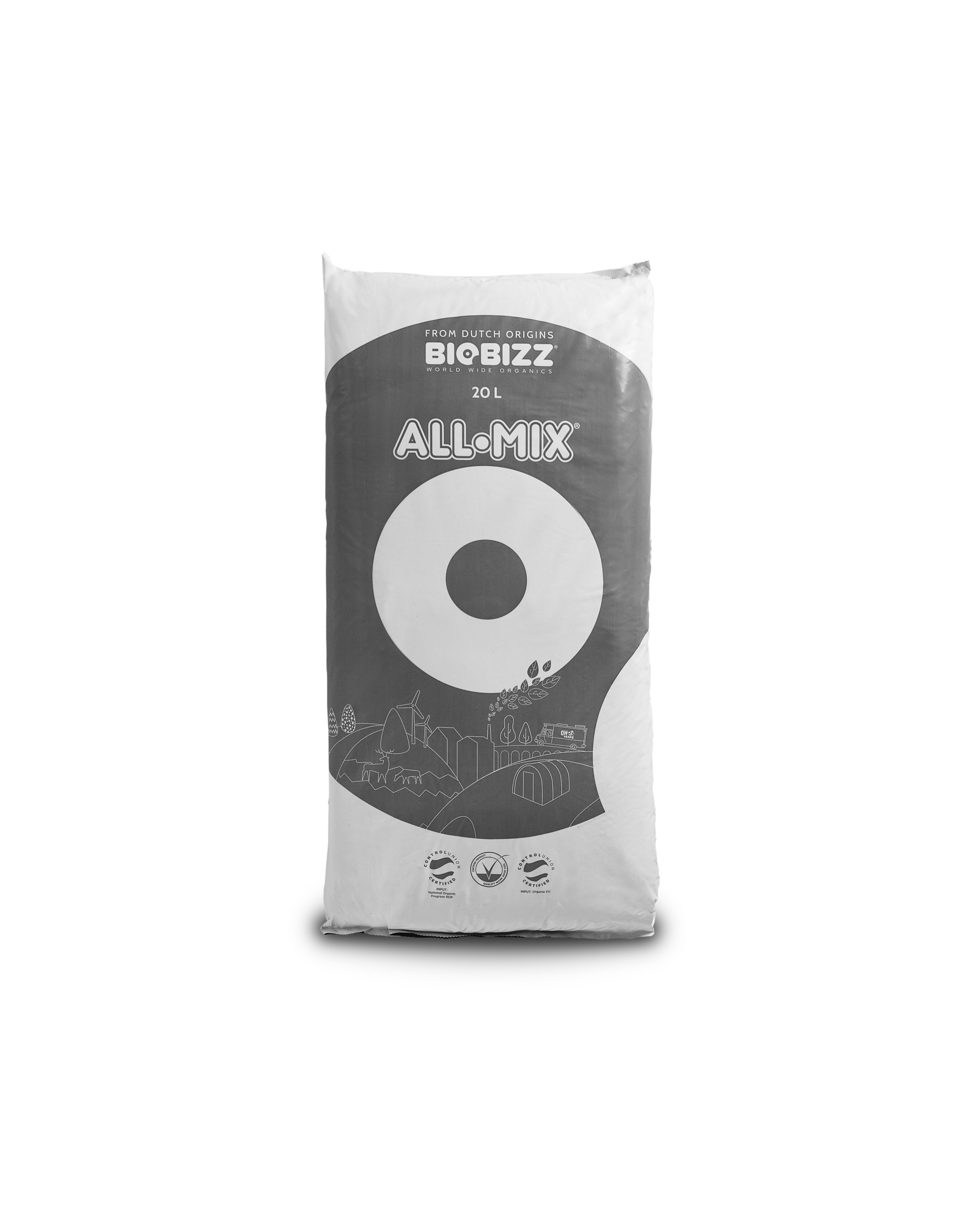 Organic ALL•MIX® Potting Soil 20L Soil Fertilizer Pesticide