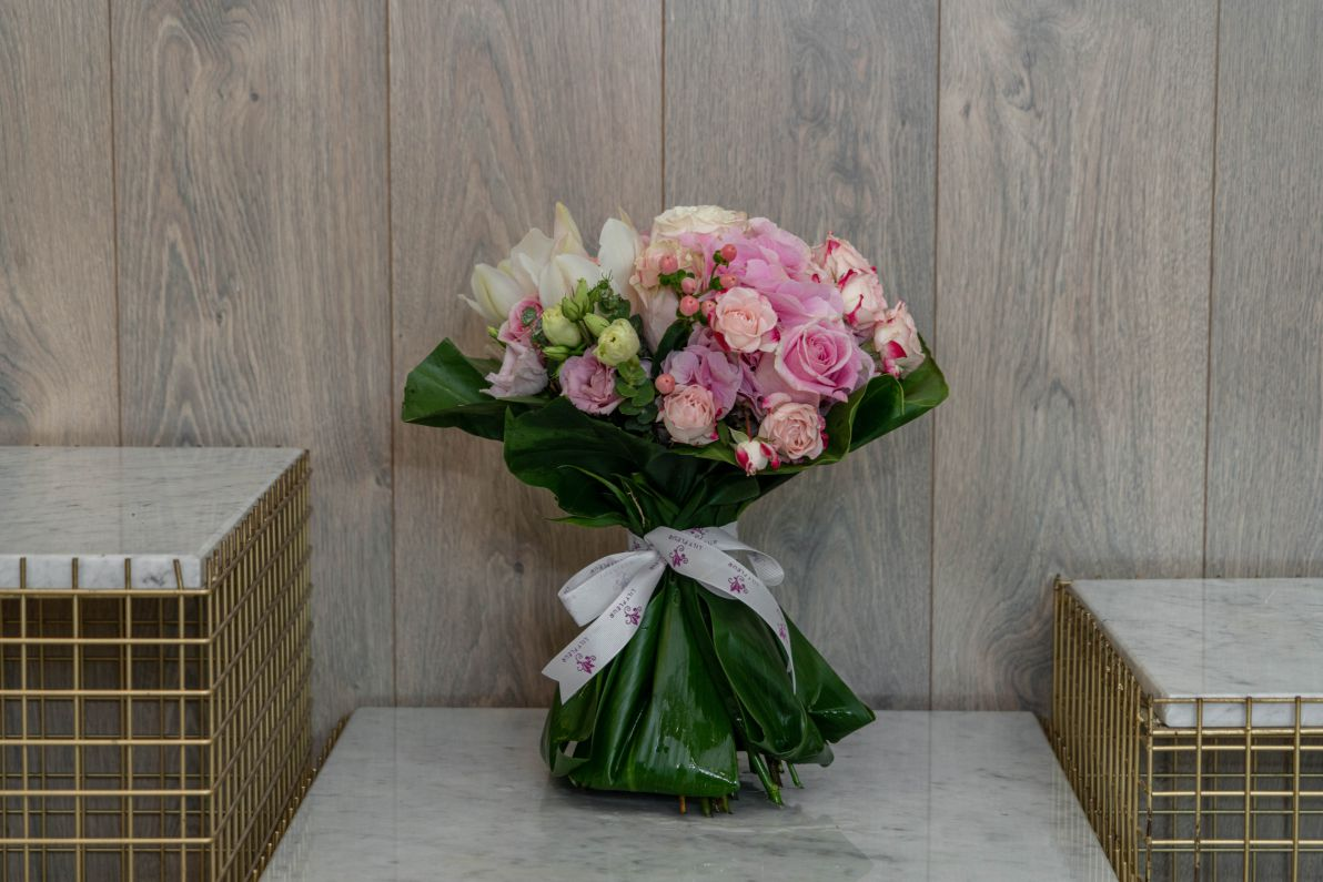 Delicate Pink Bouquets