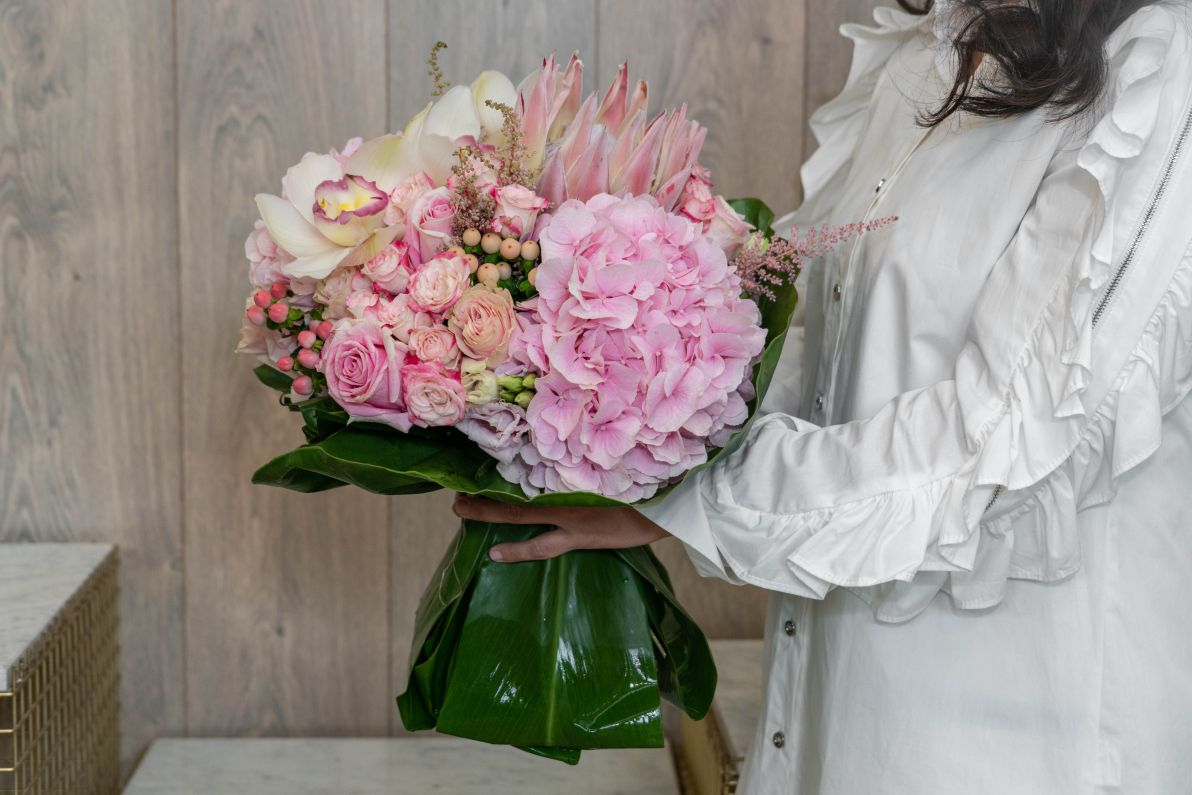 Blisfully Pink Bouquets