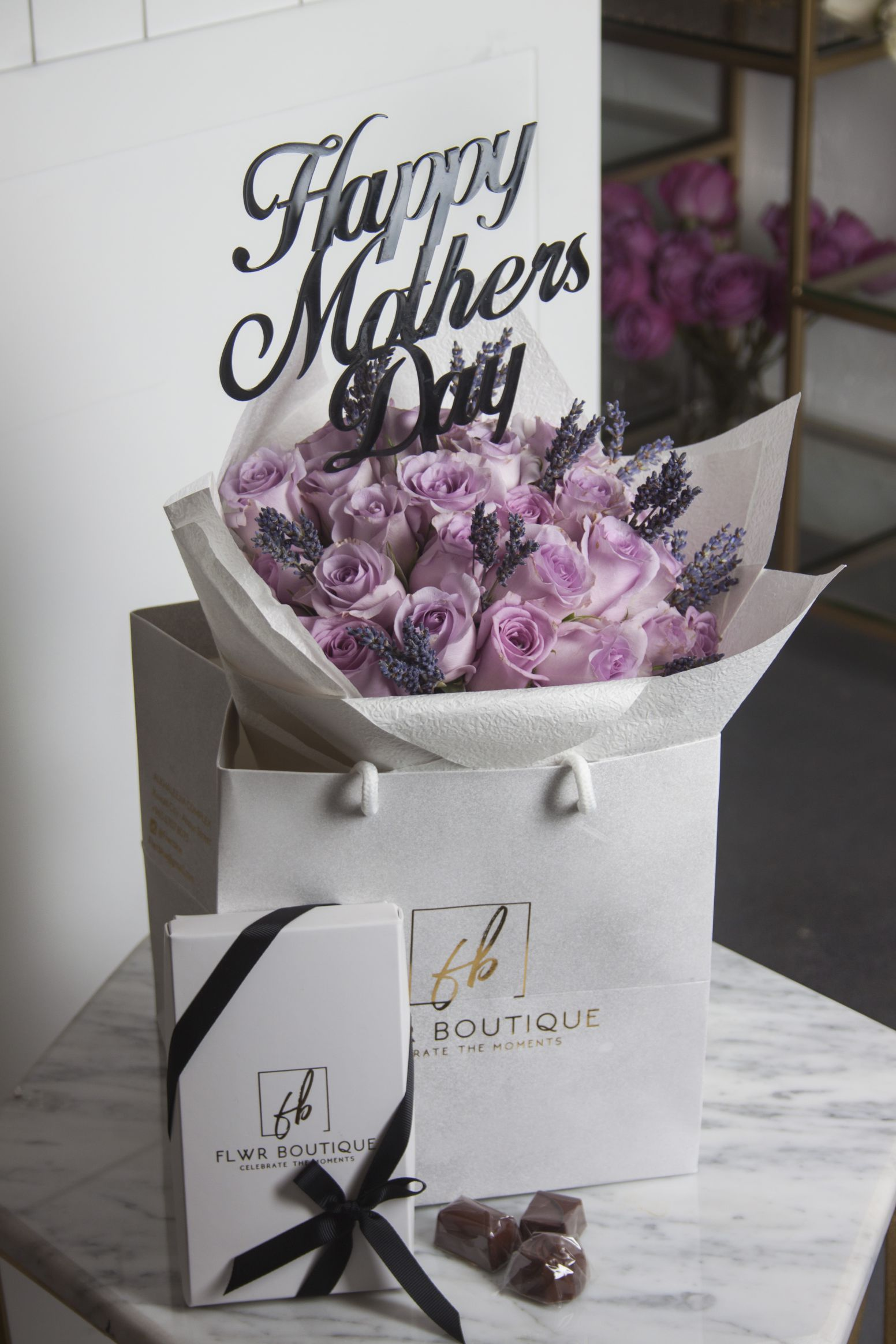 Lavender Hand Bouquet - Small 'Combo Pack'