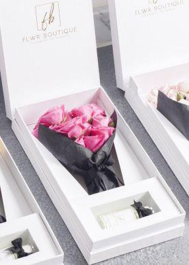 سينت أوف لوف بوكس - فوشيا سلة هدية