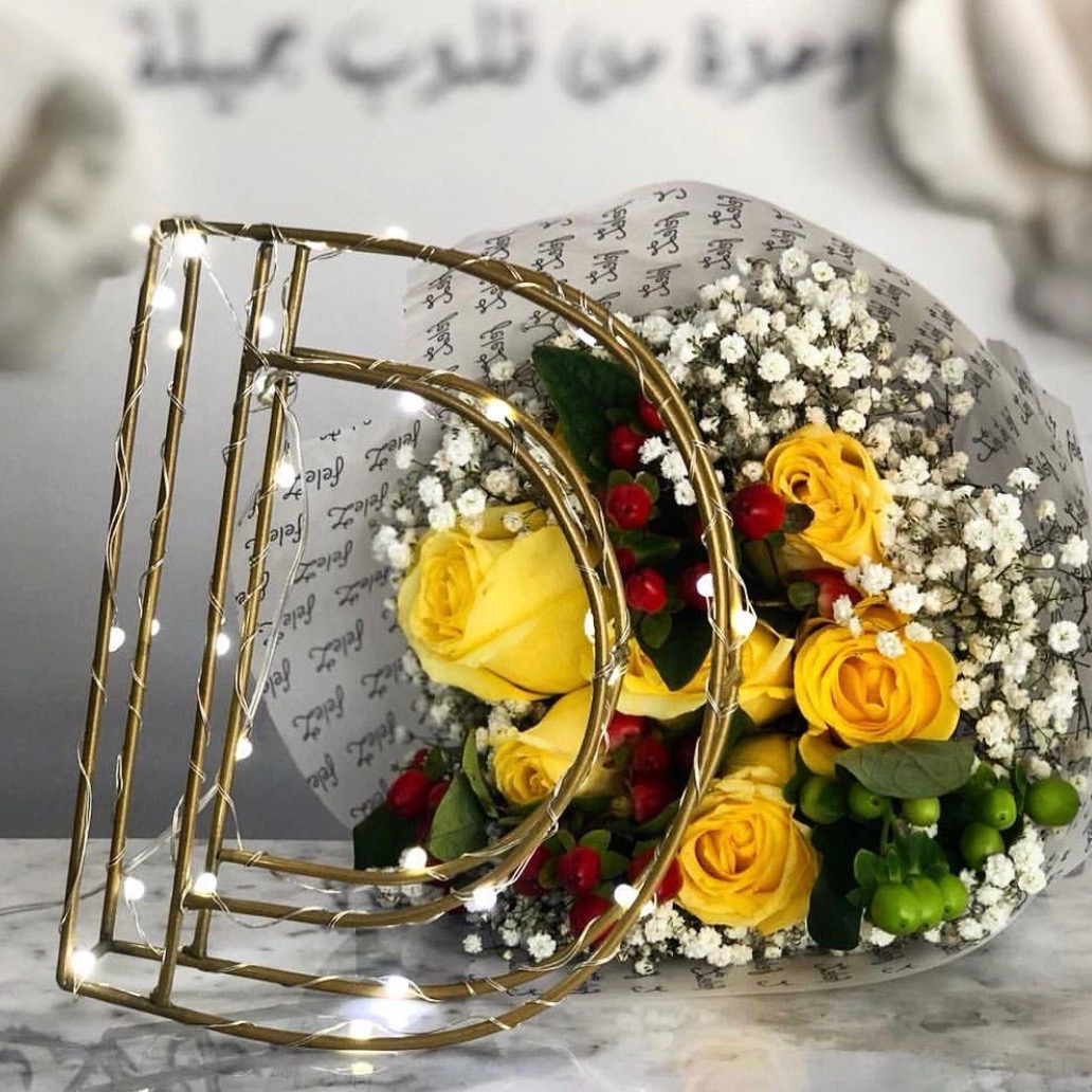 Light Letter 'Bouquets'