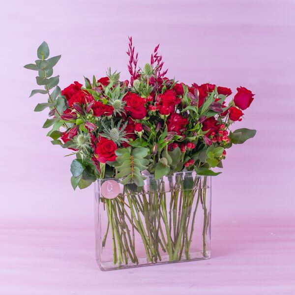 ايتيرنال بيوتي 'زهور مع قاعدة'