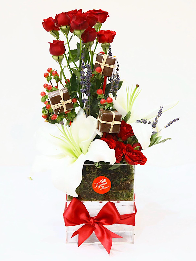 The Red Flowers Box Combo Pack