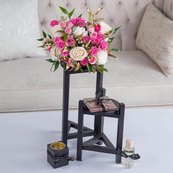 Madison Flower with Base