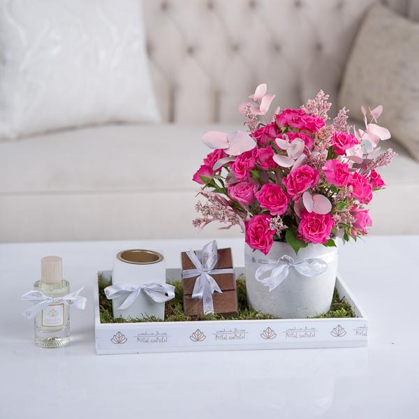 ستيلا 'زهور مع قاعدة'