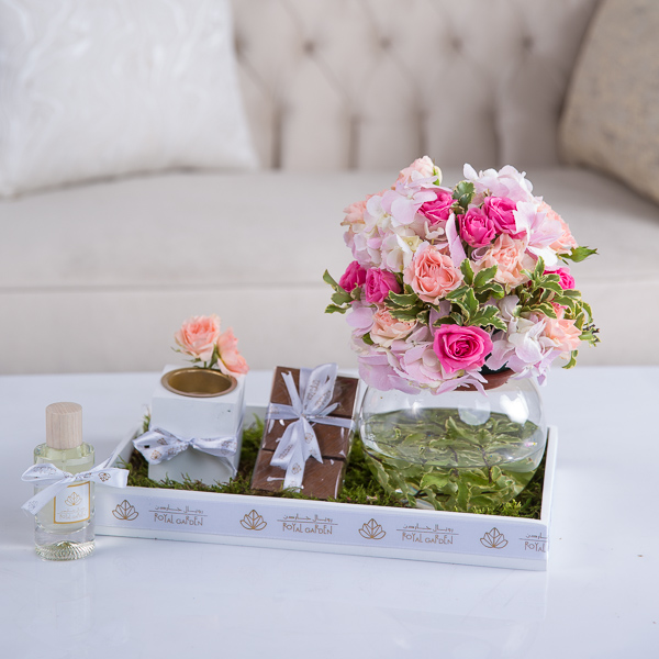 Savannah Flower with Base