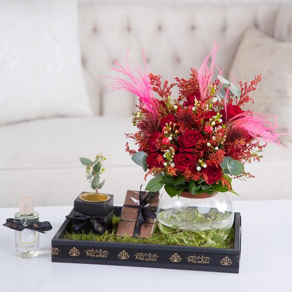 Maya Flower with Base