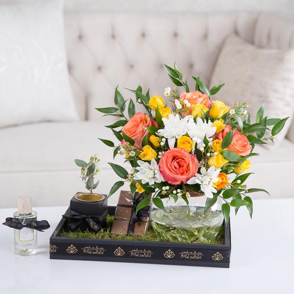 ايلينا زهور مع قاعدة
