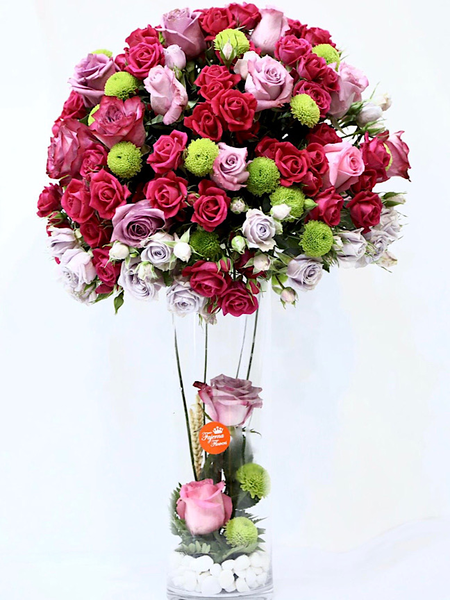 Glamor Flower with Base