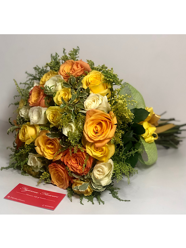 Cute Yellow Bouquets