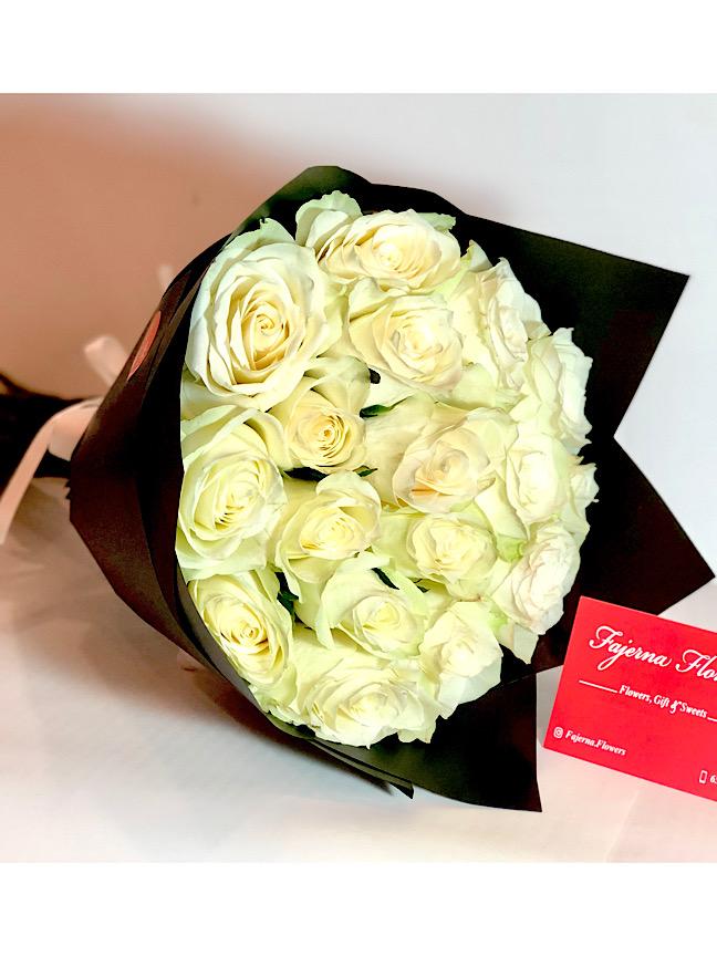 بوكيه أبيض  'باقة زهور'