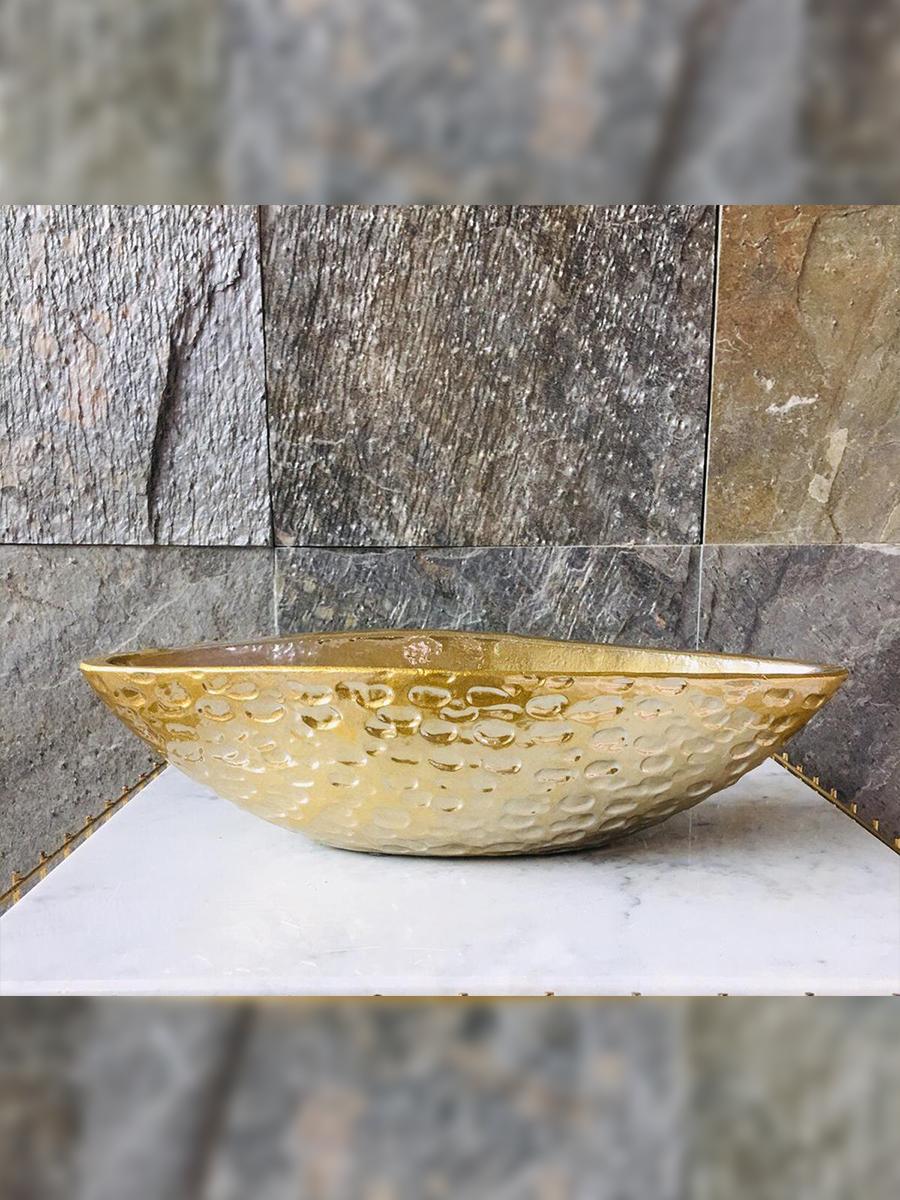 Jard kolom  gold - 2 Pots & Vases