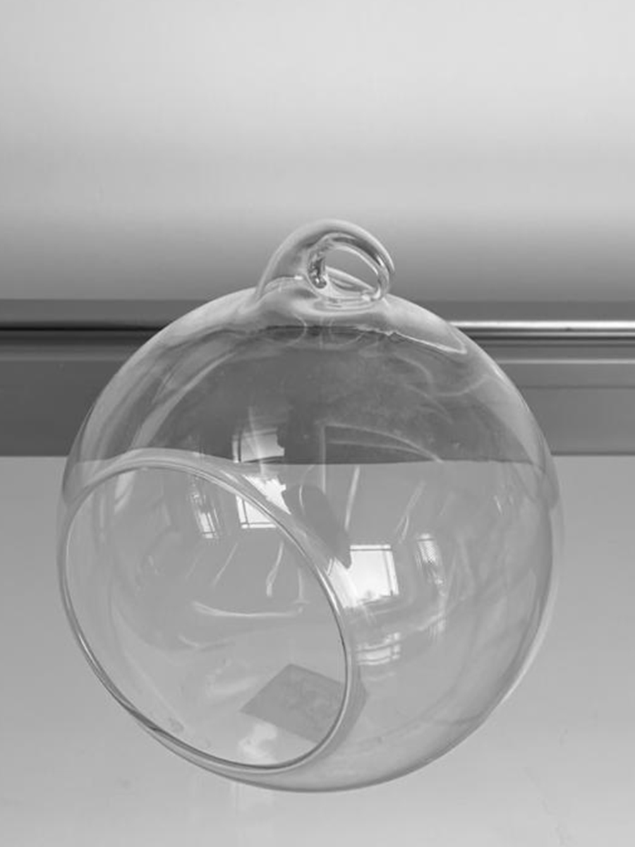 Hanging Round Glass Small 5pcs package  Pots & Vases