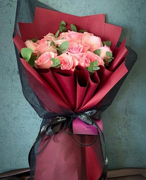 بوكيه روزي باقة زهور