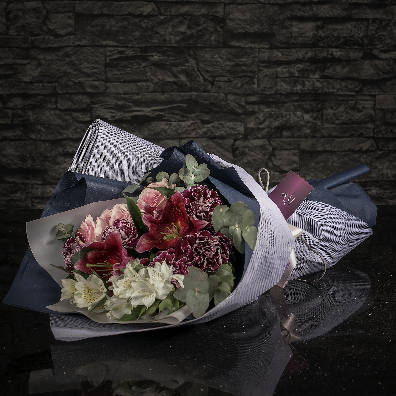 بوكيه لاس باقة زهور