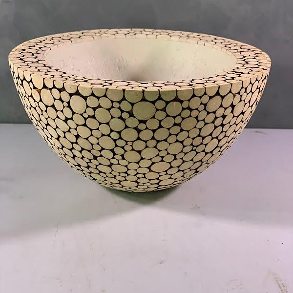 wooden disk vase xl Pots & Vases