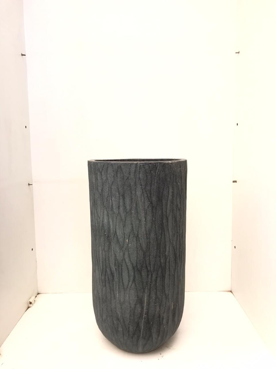 Vase Sep Black L Pots & Vases