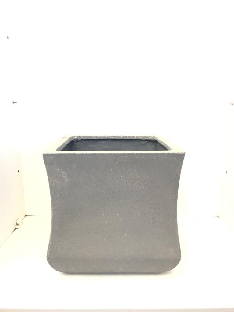 Sq. Ficonstone Pot Plain Large Pots & Vases