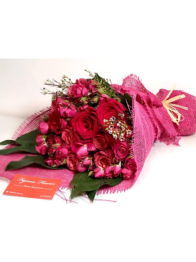 بوكيه فوشيا 'باقة زهور'