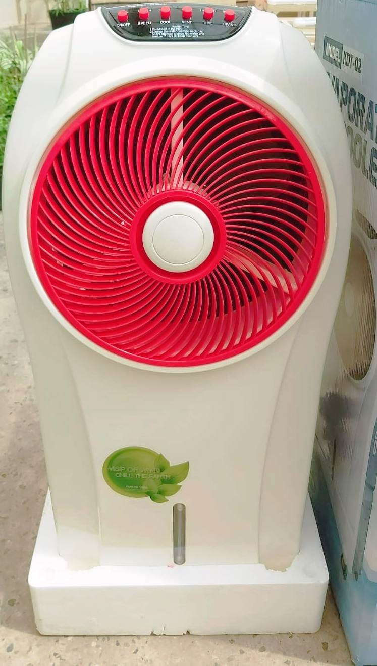 Evaporative AIR Cooler - Red KDT02 Gardening Accessories