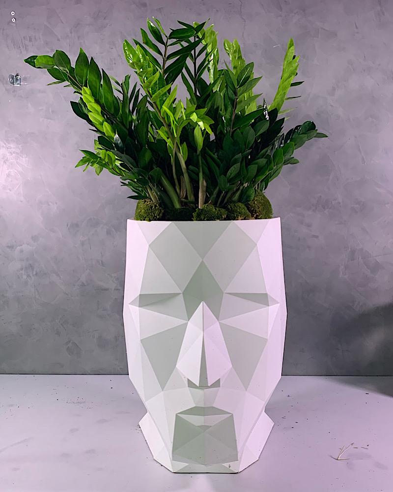 Adan Statue With Plants 'Premium Collection'