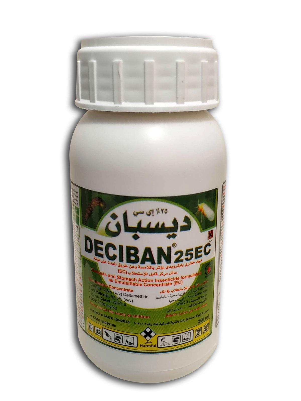 Deciban 25 EC Soil Fertilizer Pesticide