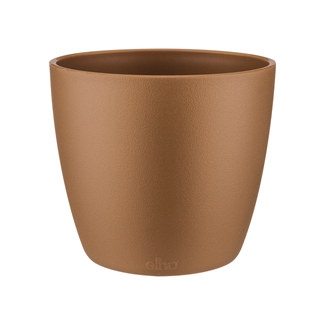 Brussels Round Mini gold Pots & Vases