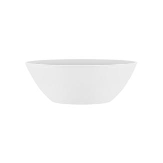 وعاء بروسلز بيضاوي أبيض صغير 'أواني و مزهريات'