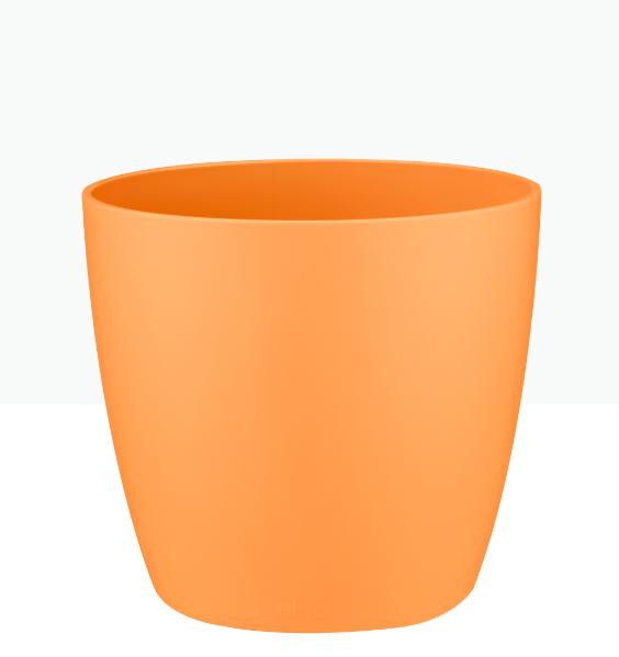 Brussels Round Mini Pot - Orange 'Pots & Vases'