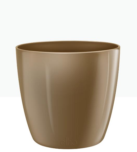 Brussels Diamond Round Pot - Velvet Gold 'Pots & Vases'