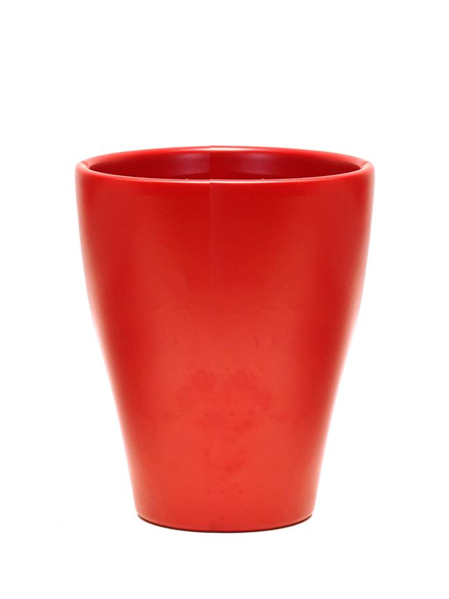 Pingani Red Color Pot 'أواني و مزهريات'