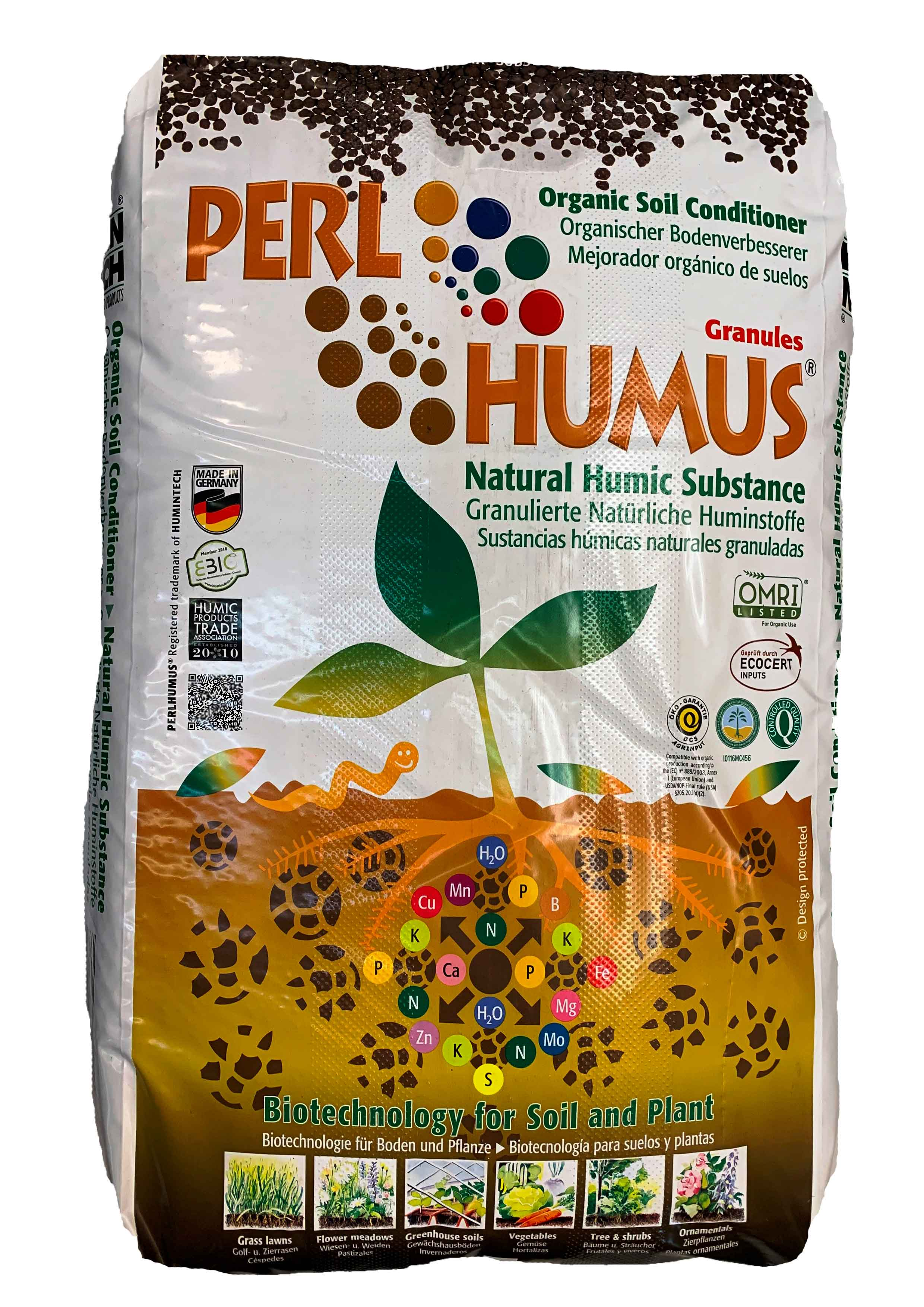 Pearl Humus Granules Soil Fertilizer Pesticide