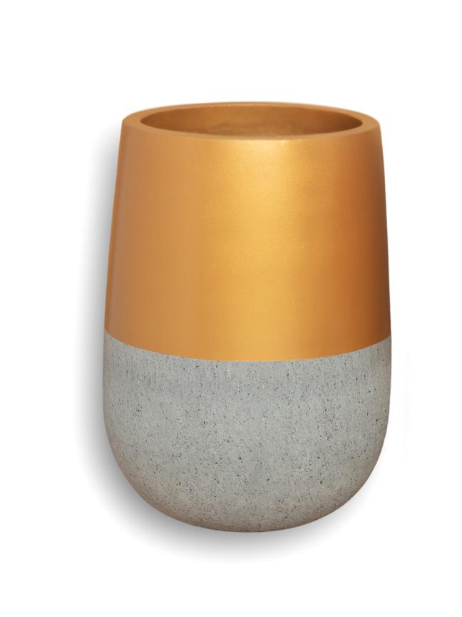 Top Gold (35*23 CM) Pots & Vases