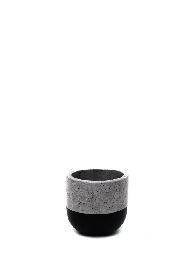 BTM Pot Black (20) Pots & Vases
