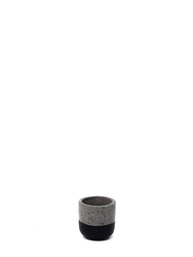 BTM Pot Black (12 Cm) 'Pots & Vases'