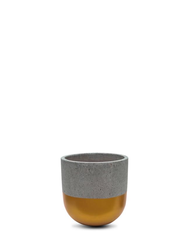 BTM Pot Gold (20 cm) Pots & Vases