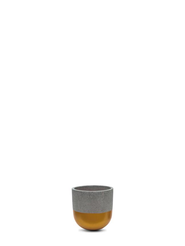 BTM Pot Gold (12 cm) Pots & Vases