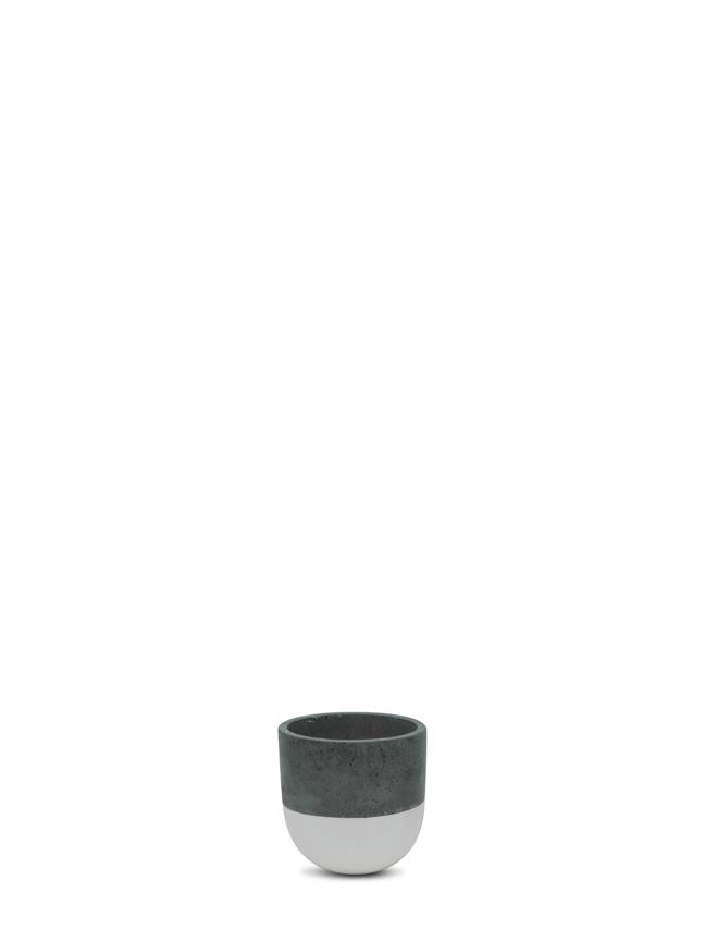 BTM Pot White (12 cm) Pots & Vases