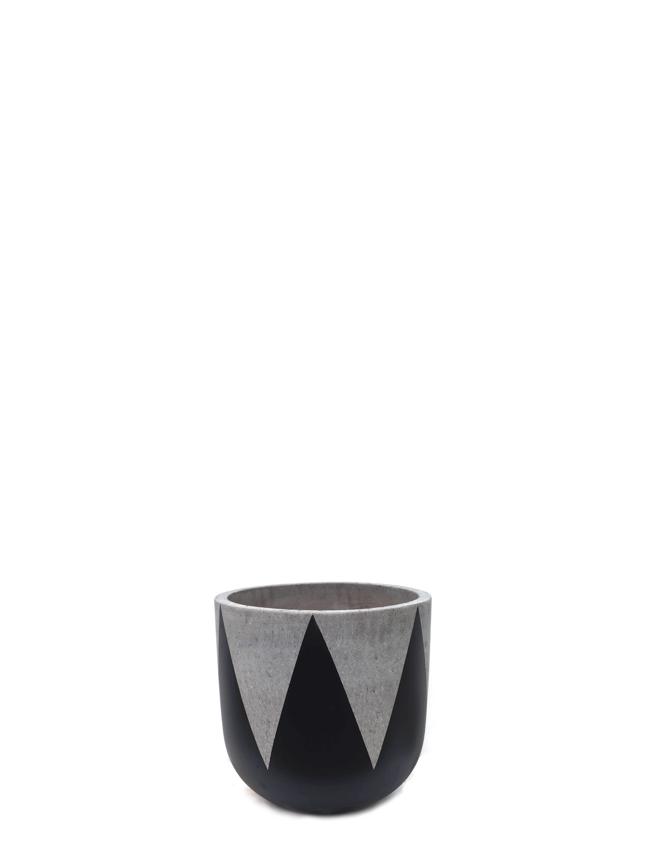 Crown Black (20 CM) 'Pots & Vases'