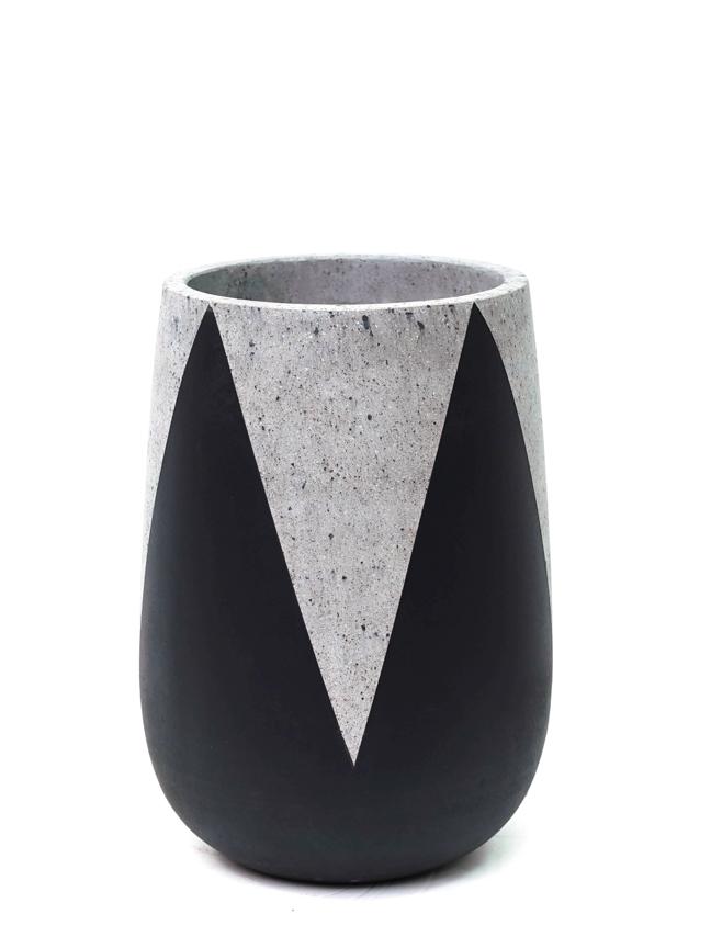 Crown Black (50*35 CM ) Pots & Vases