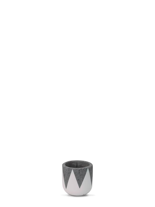 Crown White (12 CM) 'Pots & Vases'