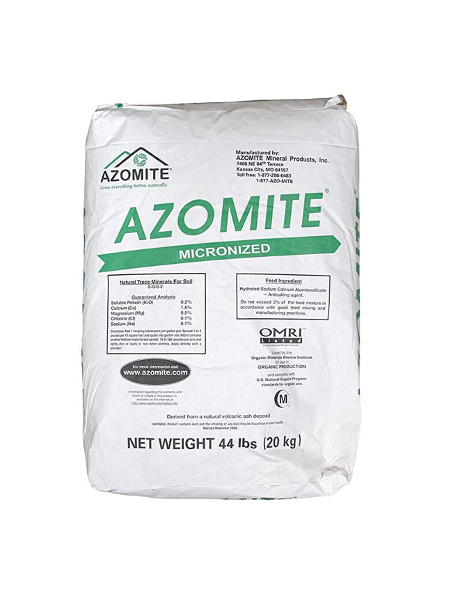 Azomite  Soil Fertilizer Pesticide