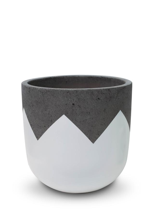 Wave White (40 Cm) 'Pots & Vases'