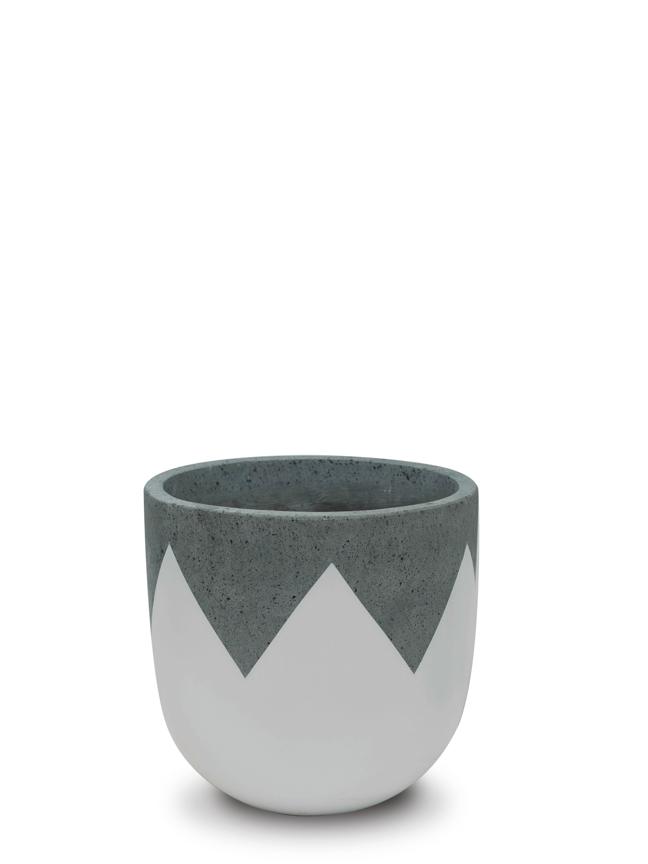 Wave White (30 cm) Pots & Vases