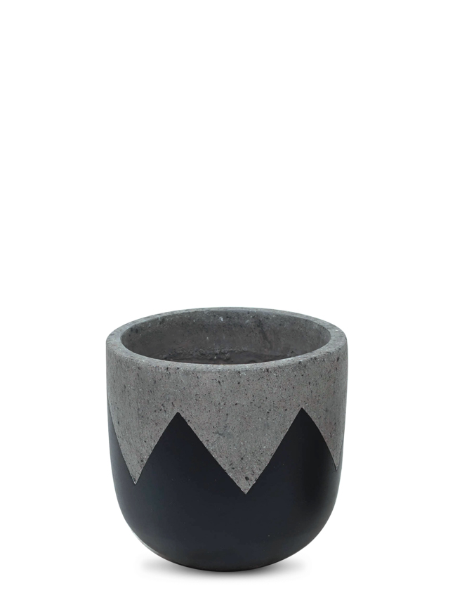 Wave Black (30 Cm) 'Pots & Vases'
