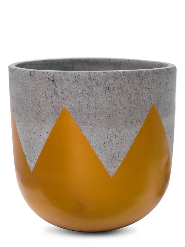 Wave Gold (40 Cm) 'Pots & Vases'